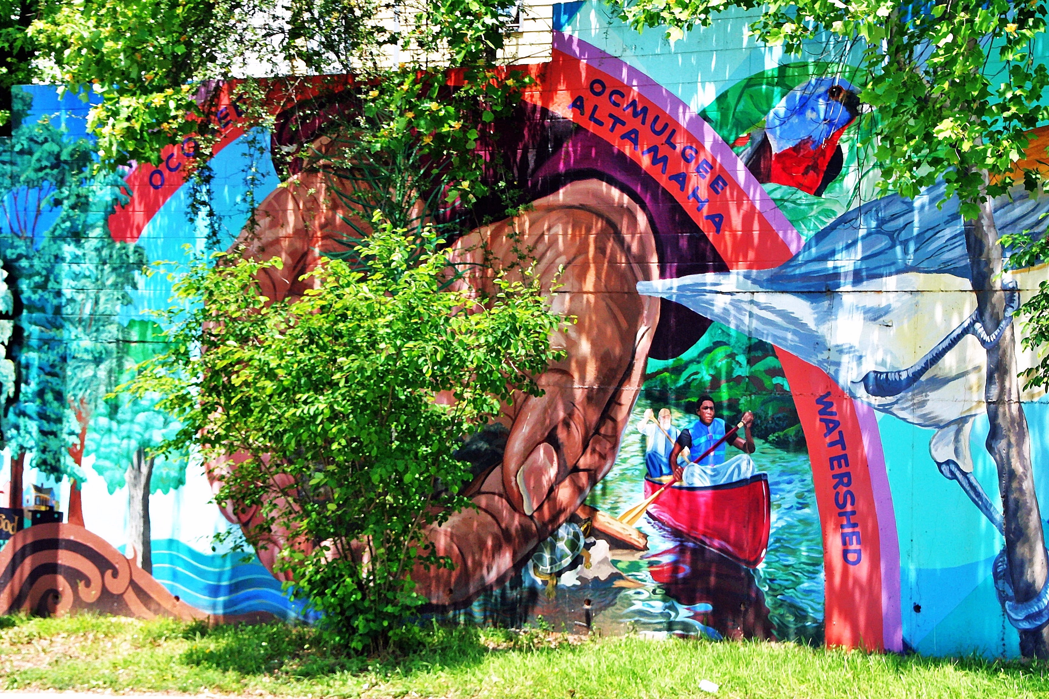 ARK Watershed Mural 5